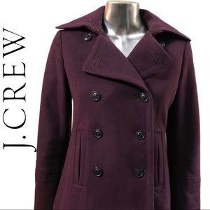 J. Crew 💯% Wool Pea Coat